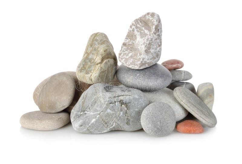Hoop stenen op   royalty-vrije stock foto's
