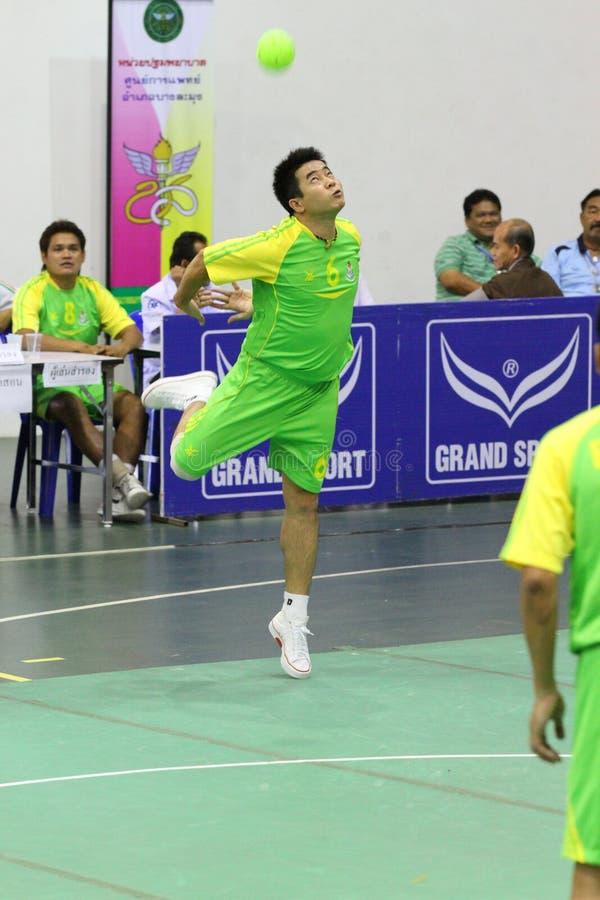Free Hoop Takraw : Chonburigame Thailand Stock Image - 17699131