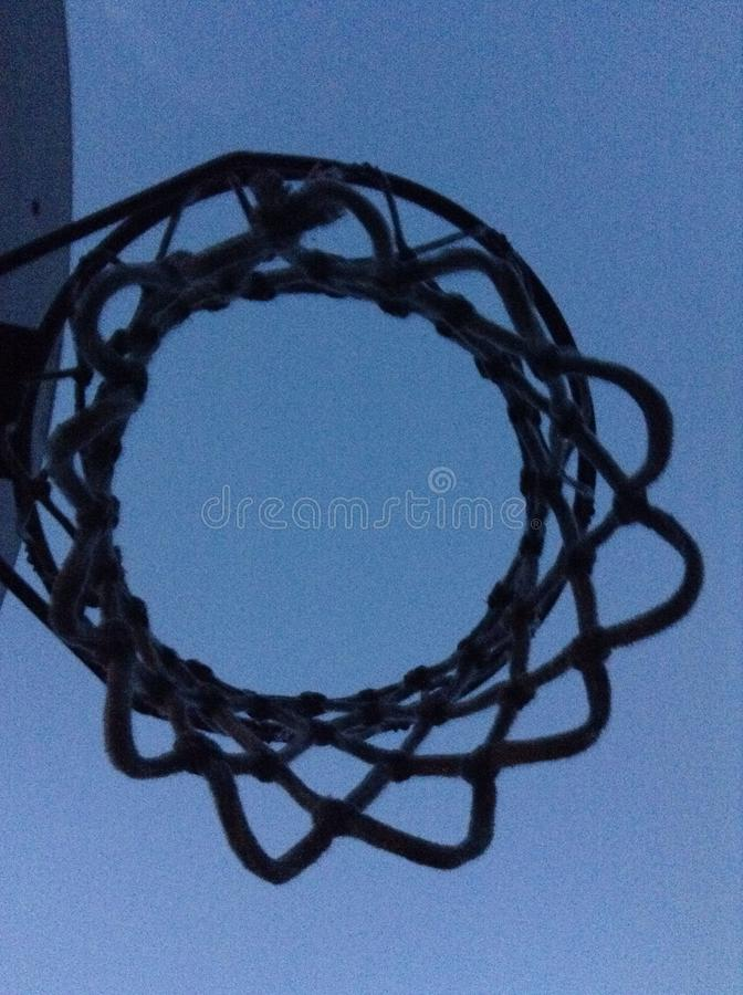 Hoop there it is. Swoosh lets get dunkin royalty free stock photos