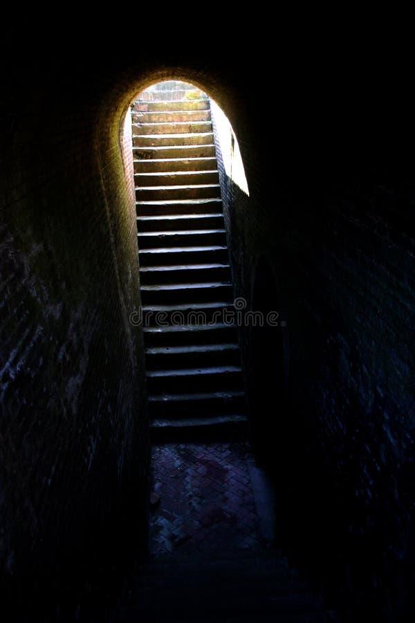 Hoop (treden uit gevangenis/kerker) royalty-vrije stock afbeeldingen