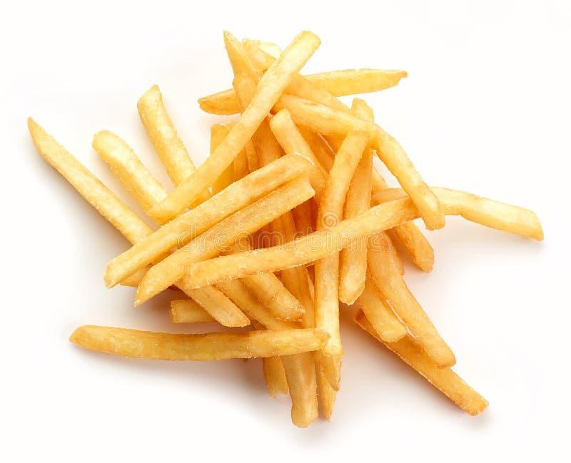 Hoop van gebraden aardappels stock foto