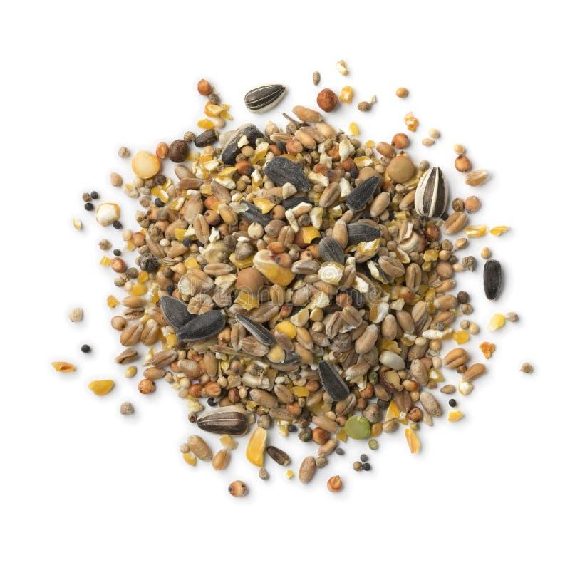 Hoop van het mengsel van het vogelvoedsel royalty-vrije stock afbeelding