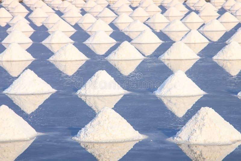 Hoop van overzees zout stock fotografie
