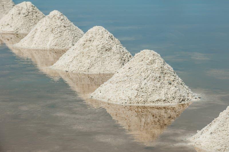 Hoop van overzees zout royalty-vrije stock afbeelding
