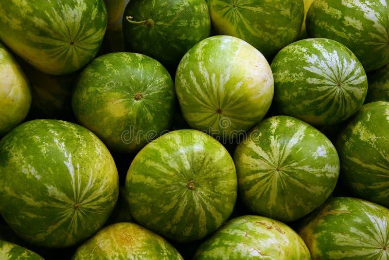 Hoop van watermeloen royalty-vrije stock afbeeldingen