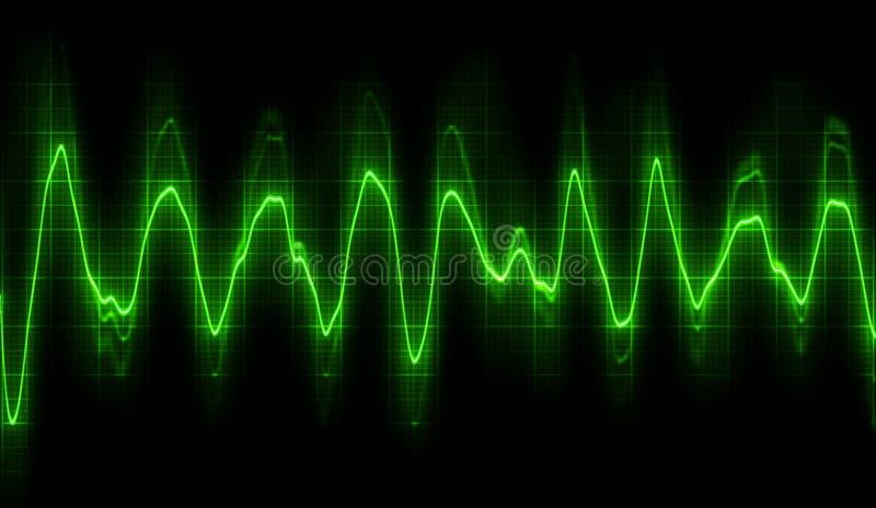 Hoor het licht vector illustratie