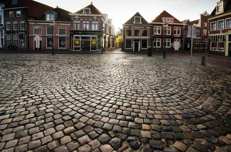 Download Hoorn editorial photo. Image of surface, street, architecture - 34835051