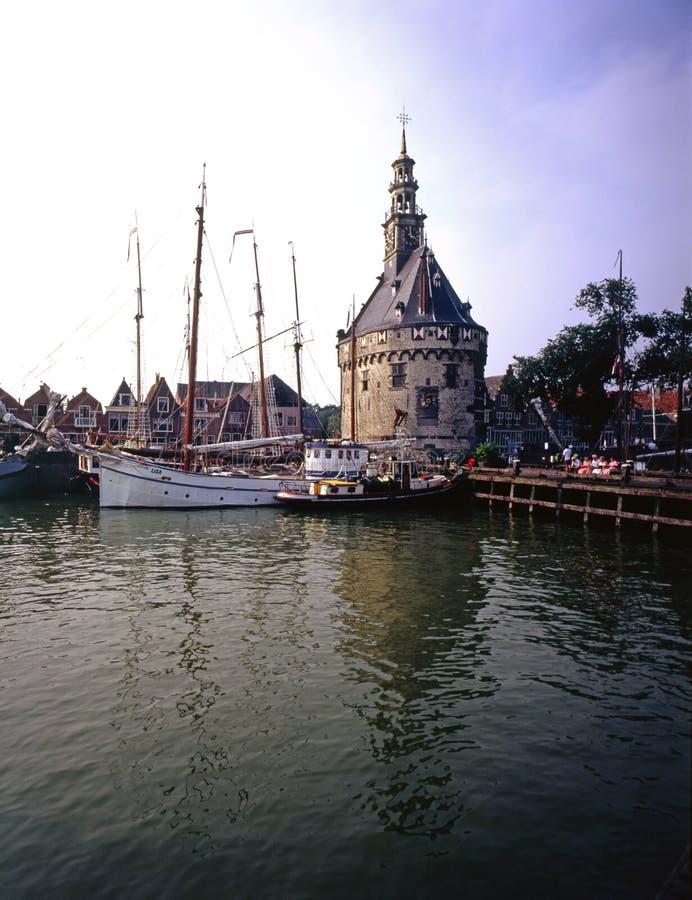 Hoorn, Países Bajos imagen de archivo