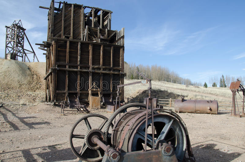 Hoosiergoudmijn, Colorado stock foto