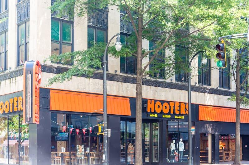 Hooters в Атланта стоковое изображение