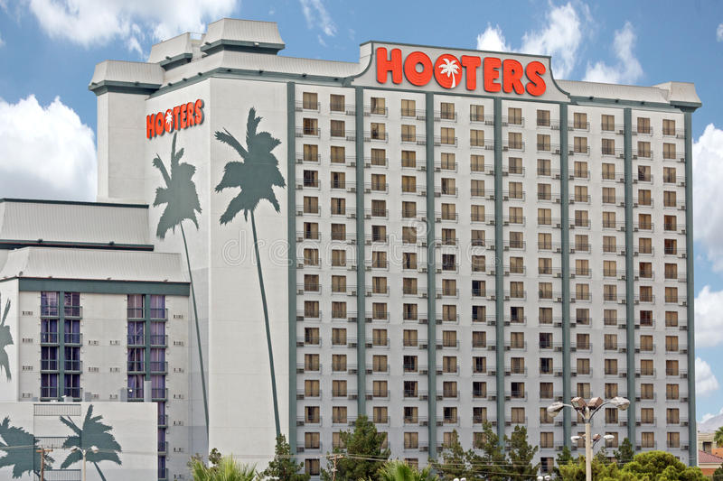 Hooters Casino Hotel in Las Vegas stock photography