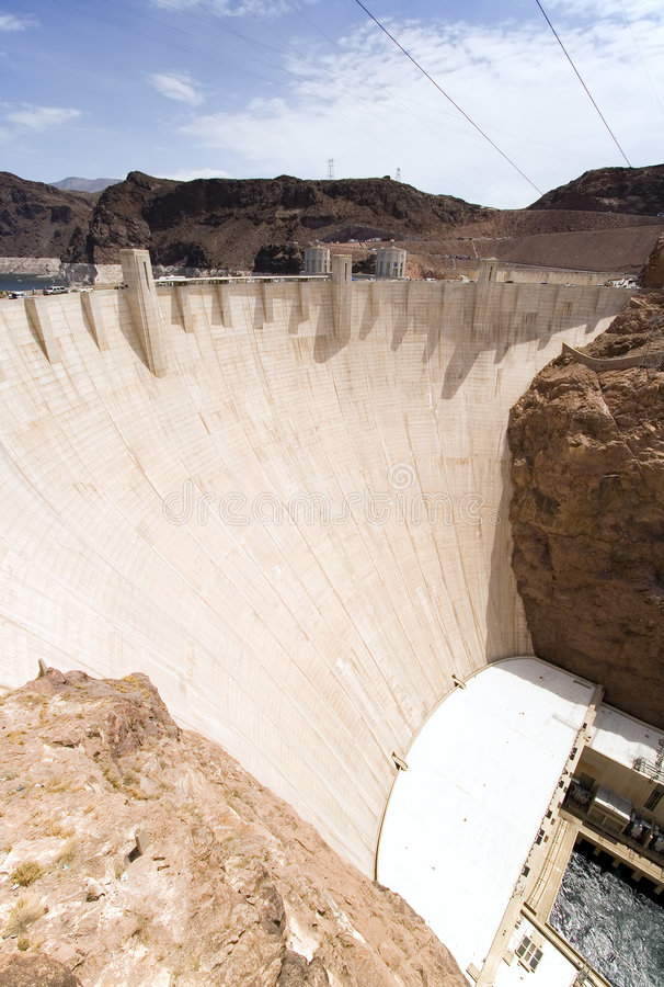 Download Hoover Dam Royalty Free Stock Photography - Image: 2894517