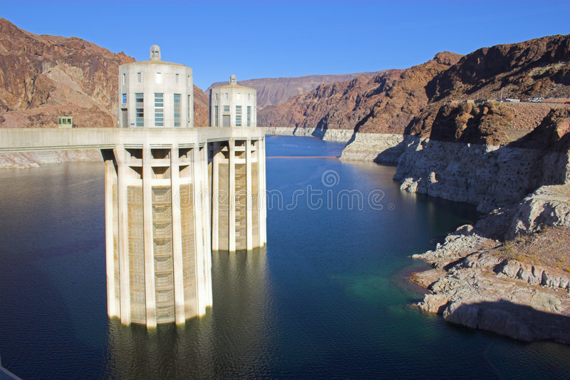 Download Hoover Dam stock image. Image of multi, american, mead - 4878015