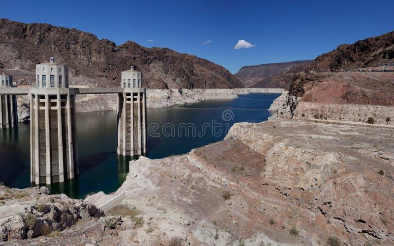 Hoover Dam, (Arizona and Nevada, USA) stock photography