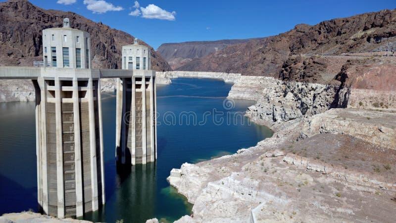 Hoover Dam, (Arizona and Nevada, USA) royalty free stock photo