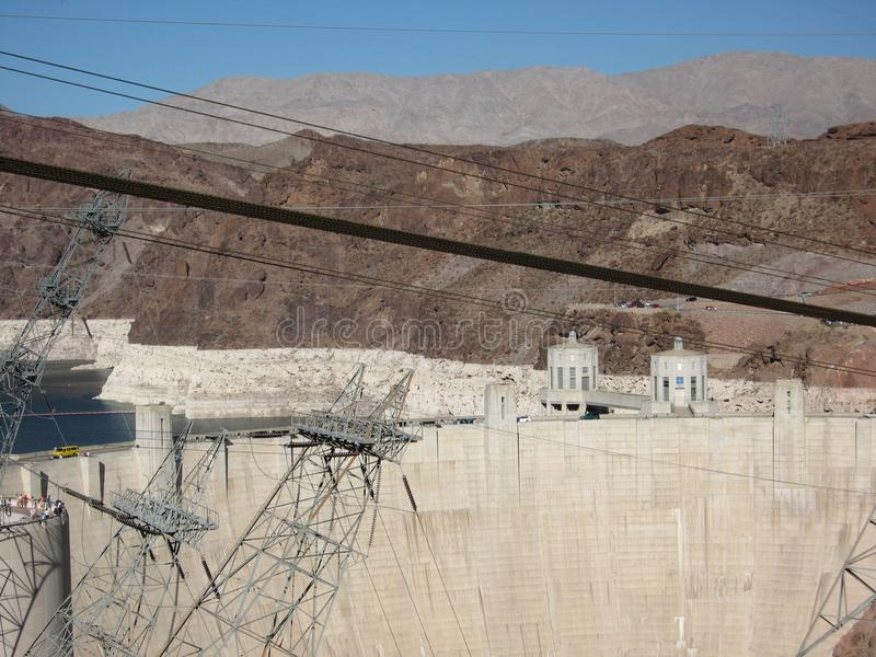Download Hoover Dam editorial image. Image of border, river, states - 101900865