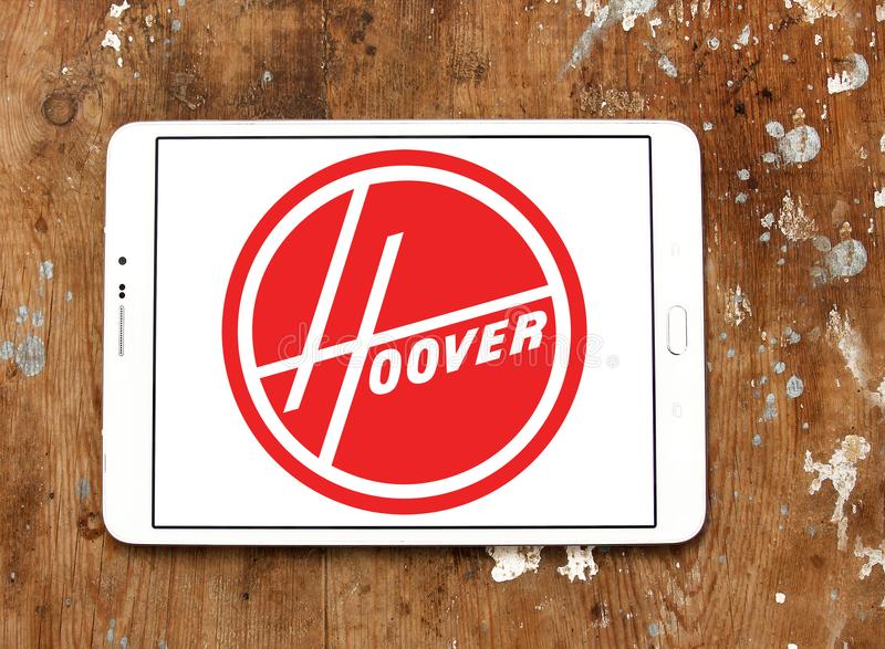Hoover Firma logo fotografia stock