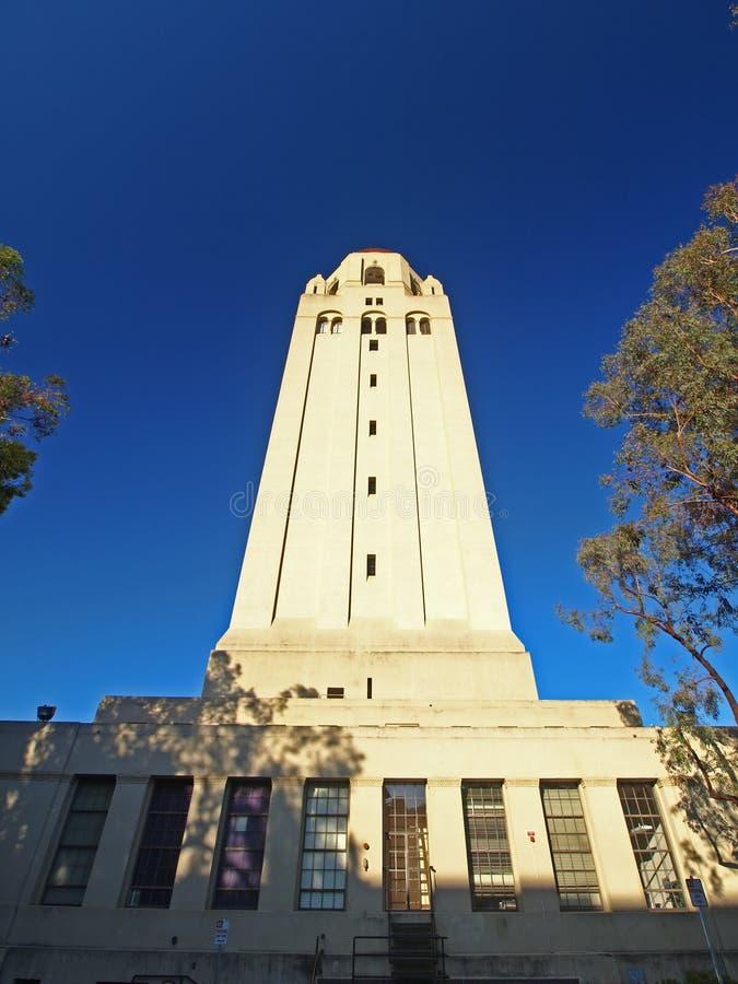 hoover Stanford basztowy uniwersytet obrazy royalty free