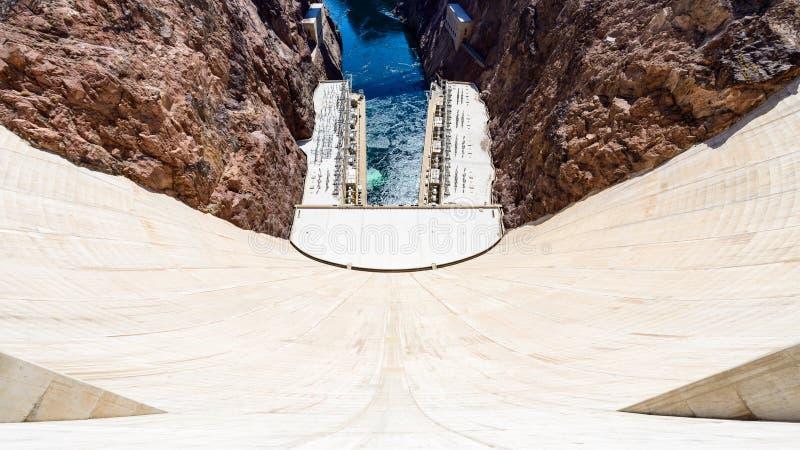 Hoover tama w Nevada, usa zdjęcie royalty free