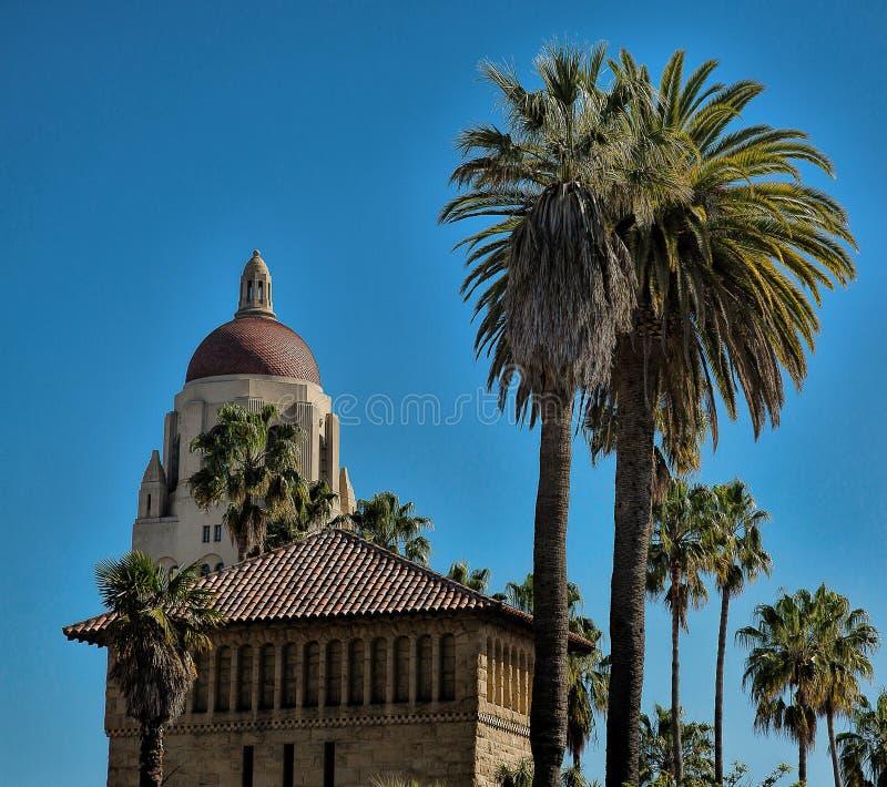 Hoover wierza przy uniwersytetem stanforda, Palo Alto, Kalifornia zdjęcie stock