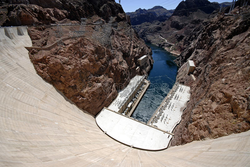 Hooverdam Las Vegas de barrage de Hoover photos stock