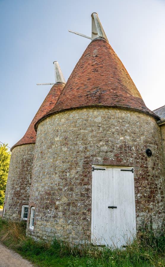 Hop Hut In Kent UK Stock Photo