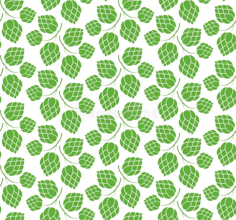 Hop. Pattern. Vector illustration (EPS 10 royalty free illustration
