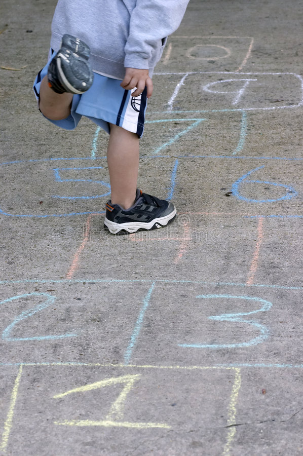 Free Hop Scotch Royalty Free Stock Images - 664449