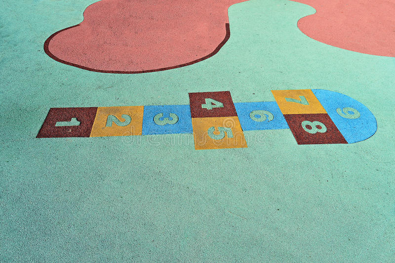 Hop Scotch royalty free stock images