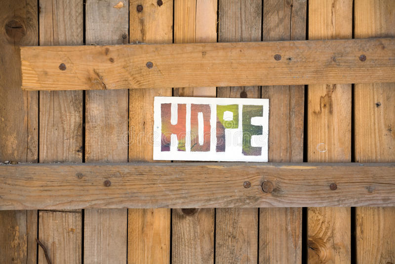 Hope arkivbild