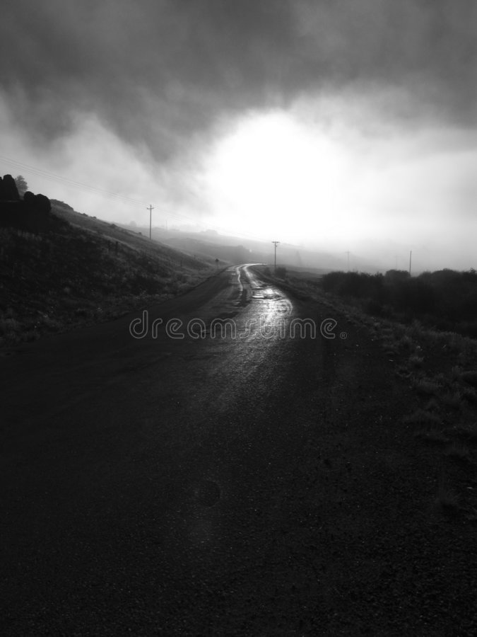 Download Hope stock photo. Image of nowhere, foggy, landscapes, shapes - 28214