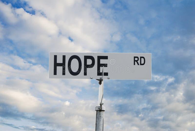 Download Hope stock image. Image of sign, horizontal, hopeful, street - 6779645