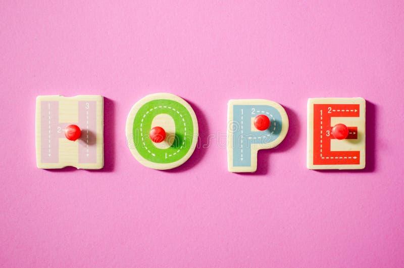 HOPE stock image