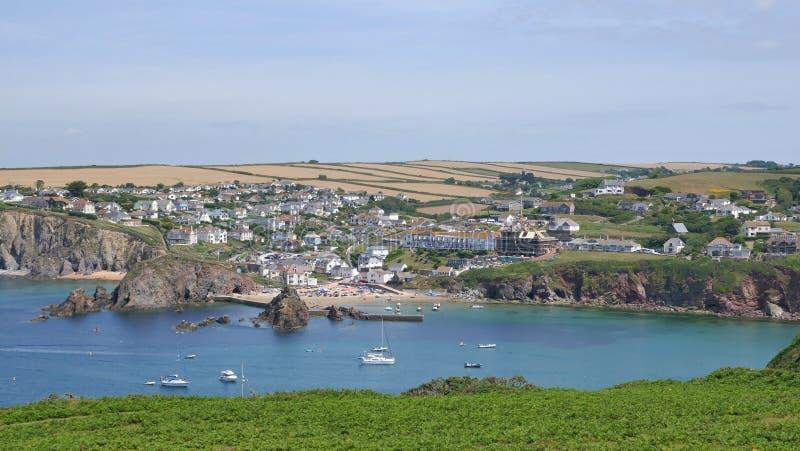 Hope Cove, Devon, zdjęcie royalty free