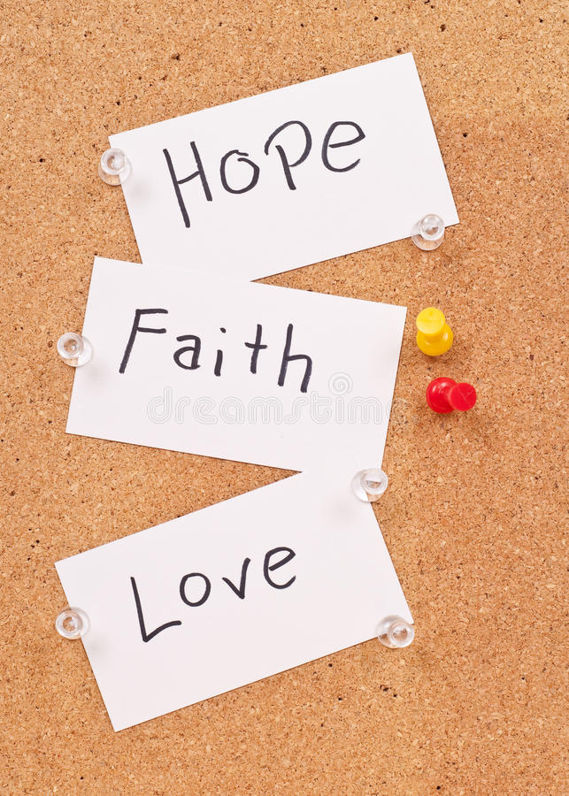 Free Hope, Faith And Love Stock Photos - 15745533