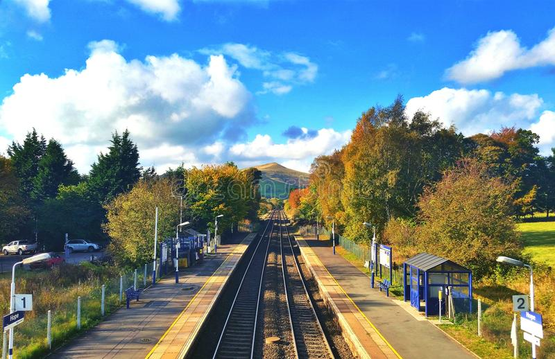 Hope Train Station royalty free stock images