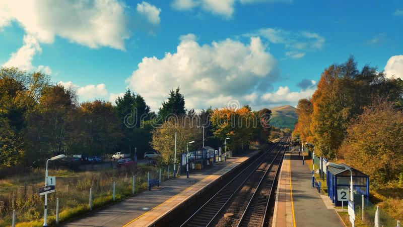 Hope Train Station royalty free stock photo