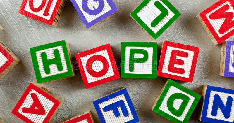 Download Hope stock photo. Image of hope, symbol, spelling, teach - 40666276