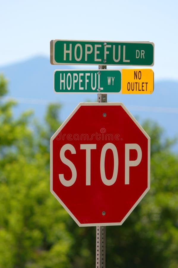 Hopeful Drive And Hopeful Way Stock Photo