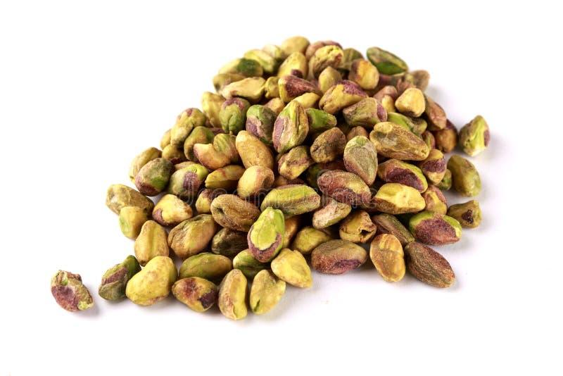 Hopen van pistache stock afbeeldingen