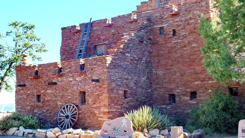 Hopi House en el pueblo de Grand Canyon fotografía de archivo libre de regalías