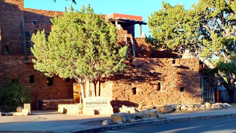 Hopi House en el pueblo de Grand Canyon imagenes de archivo