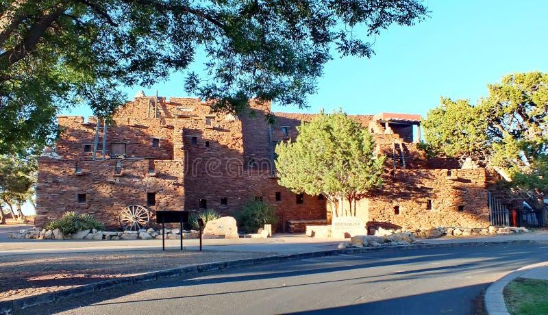 Hopi House na vila de Grand Canyon fotografia de stock