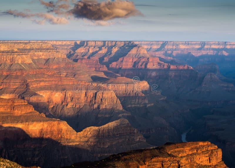 Hopi Point Grand Canyon, Arizona royaltyfria foton