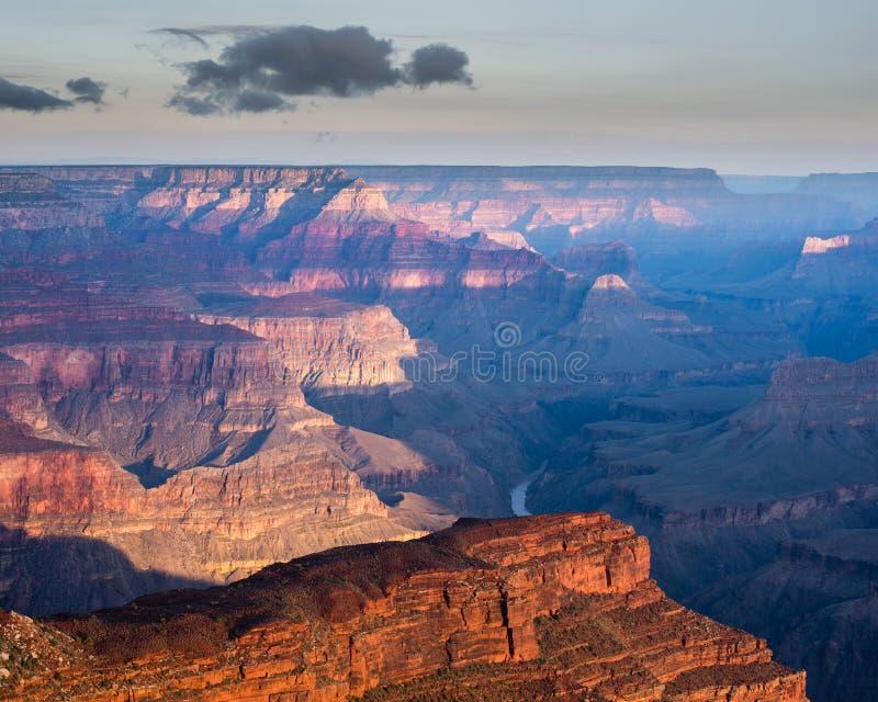 Hopi Point Grand Canyon, Arizona royaltyfria bilder