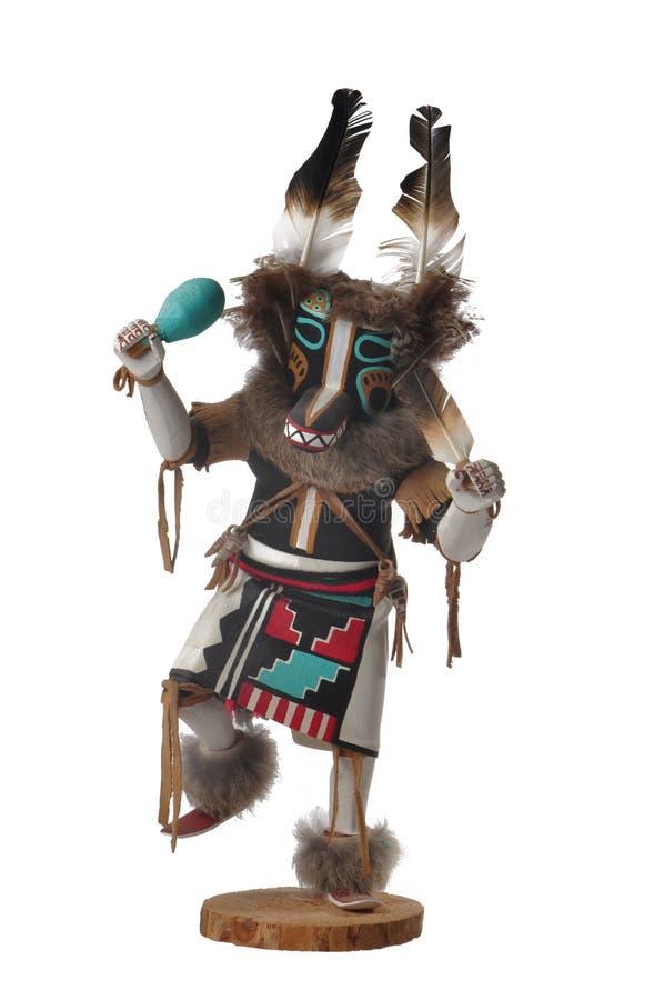 Hopi Wolf Kachina Doll royalty free stock photos