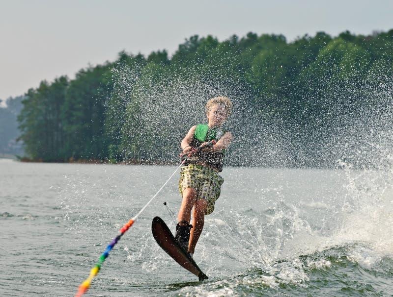 hoppa över skiervak arkivfoton