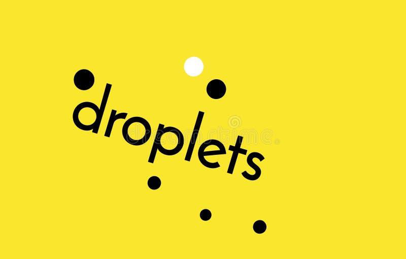 Hoppets droplets royaltyfria foton