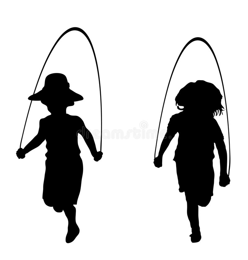 hopprep vektor illustrationer