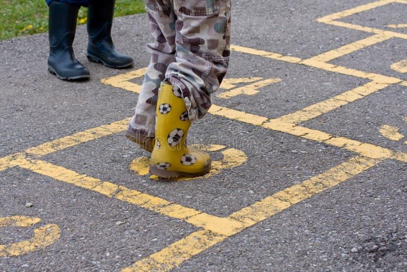 Hopscotch Стоковое фото RF